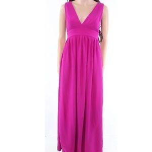 NWT Jill Stuart Magenta Gown